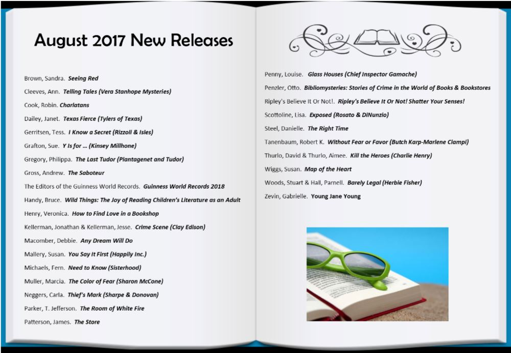 2017 August New Releases Web