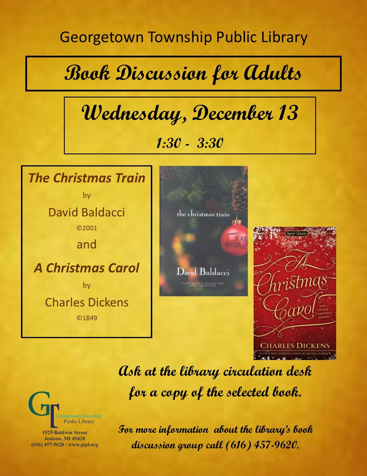 Book Discussion December 2017